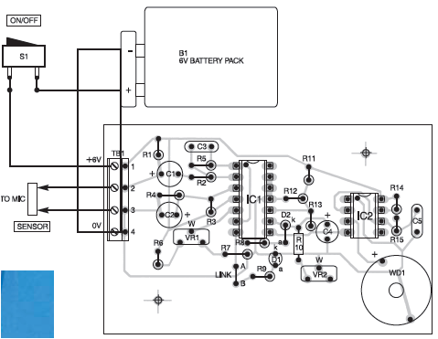 christmas led light wiring schematic