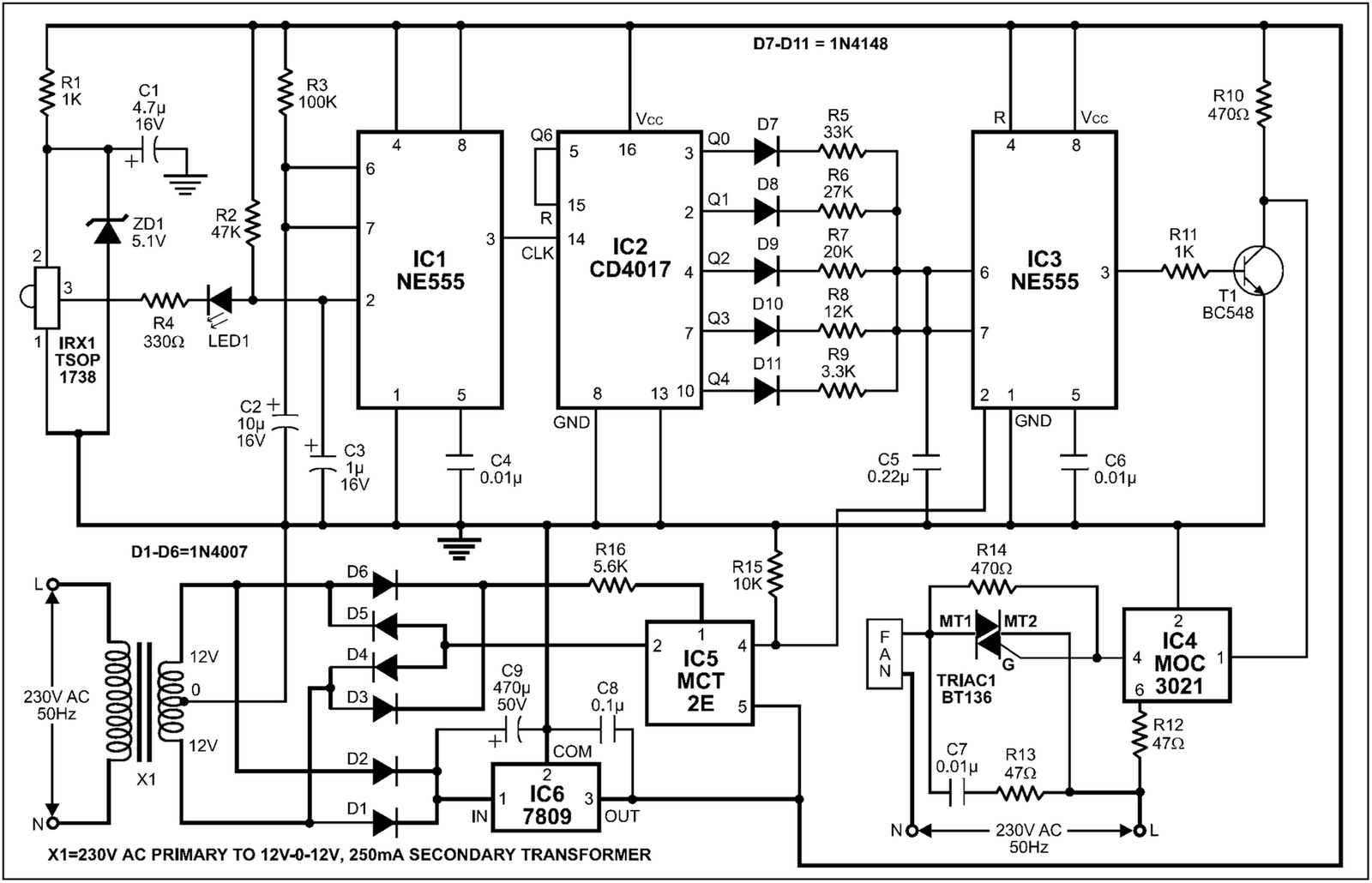 Automatic Temperature/Climate Dependent Fan Sd Controller ... on