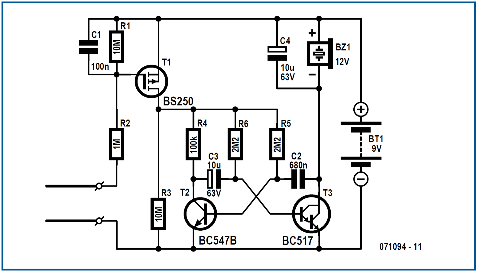 Freecircuits Opening Electroics To The World Page 4 Circuits 8085 Projects Blog Archive 15v Led Flashlight Circuit Click On Picture Enlarge